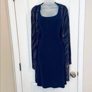 Ronni Nicole Sweater Dress Set